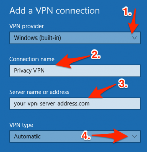 img04 290x300 - How to create manual vpn connection in windows 10